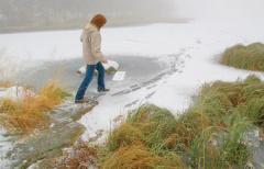 Что нужно знать о становлении льда осенью