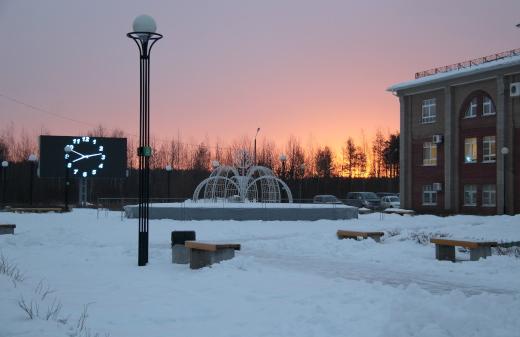 Площадь у фонтана