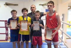 Юные боксеры выступили успешно!