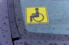 Новая система учета транспортных средств инвалидов