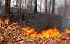 Наступил осенне-зимний пожароопасный период