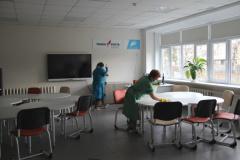 Санитарная обработка в образовательных учреждениях